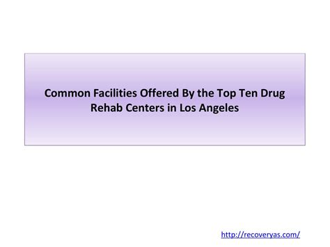 Detox Centers In Los Angeles by Rehab Centers By Sharonbetty Issuu