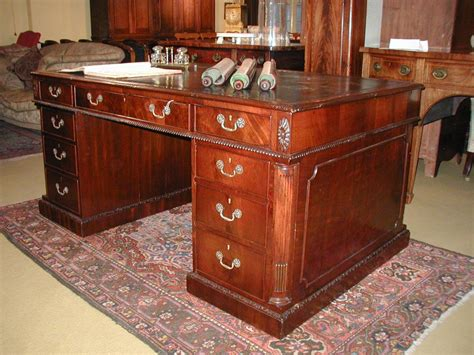 Antique Mahogany Desk by Antique Mahogany Desk At 1stdibs