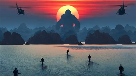 kong skull island  wallpapers hd wallpapers id