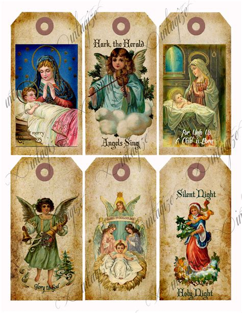 printable victorian christmas tags religious christmas tags download printable vintage victorian