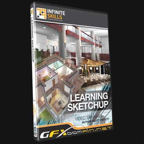 sketchup tutorial video a practical course infiniteskills learning sketchup training video