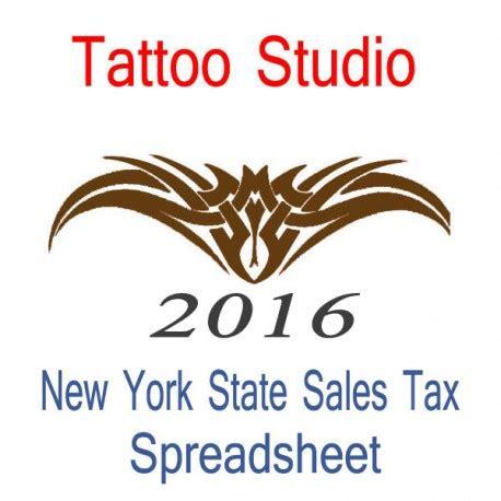 tattoo sales new york state studio accounts sales tax