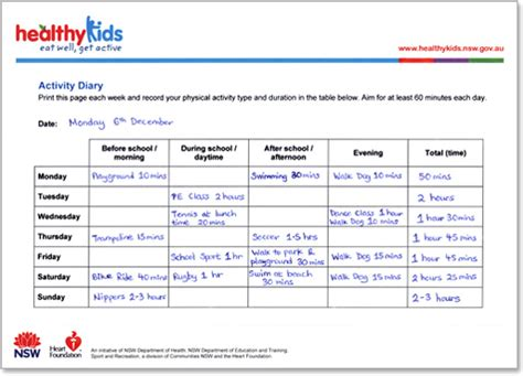 Small Eat In Kitchen Table by Healthy Kids Activity Diary