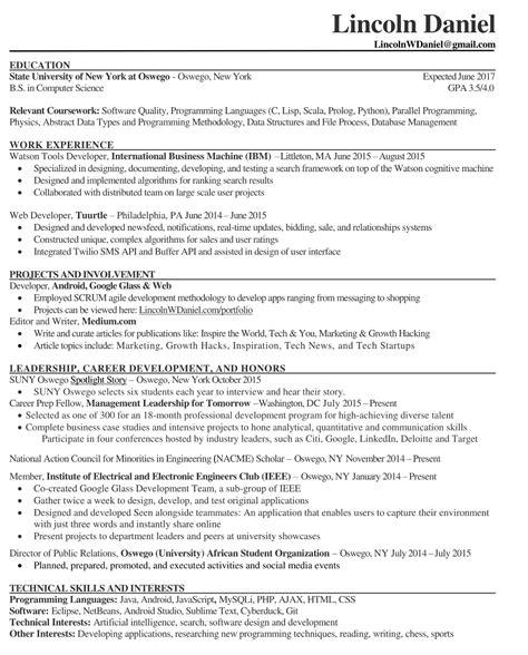 mechanical maintenance resume model resume exles for