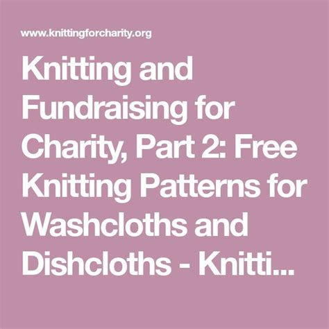25 Unique Knitting For Charity Ideas On Knit
