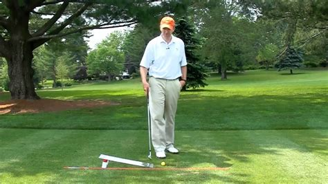 golf swing impact drills golf swing impact position drill mov youtube