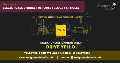 drive yello drive yello research assignment help assignment studio