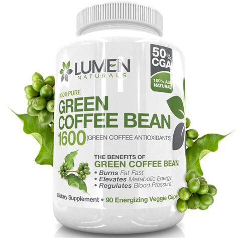 Buy Pure Green Coffee Bean Extract   Maximum Strength Fat
