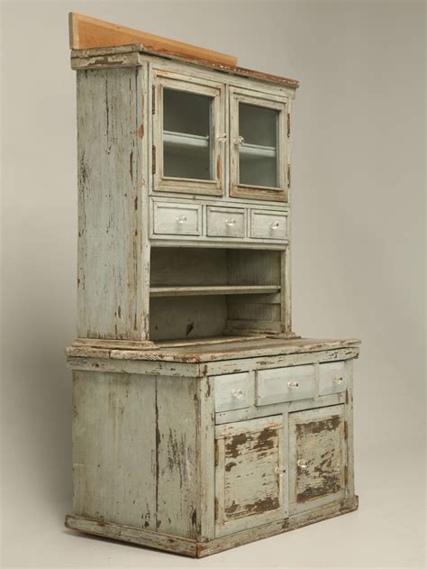 Antique American Pine Child's Cupboard for Sale   Old Plank