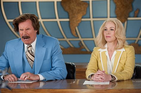 Ron Burgundy Blind Anchorman 2 The Legend Continues Film Review Valley