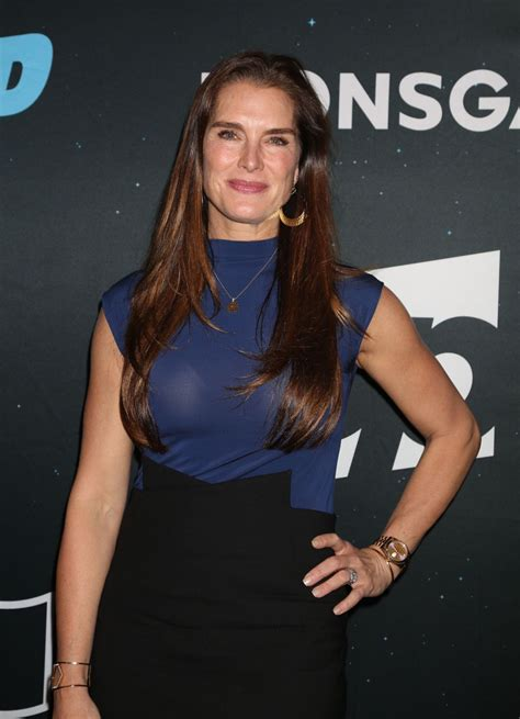 brook shields brooke shields at nightcap season 2 tv show premiere