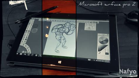 computer drawing tool my current drawing tool surface pro 2 pc tablet by