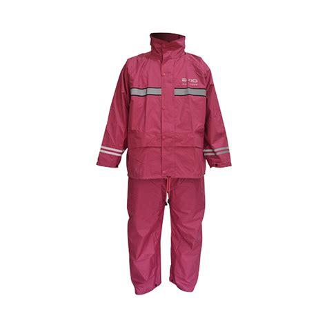 Jas Hujan jual axio europe set jas hujan merah maroon