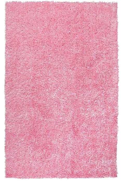 baby pink rug plush nitro 8 x10 rectangle baby pink area rug modern rugs by rugpal