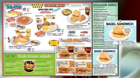 waffle house menu nutrition waffle house full menu house plan 2017