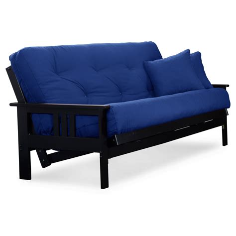 black wood futon frame orlando wood futon frame black finish full size dcg