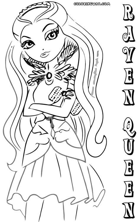coloring pages raven queen raven queen coloring pages coloring pages to download