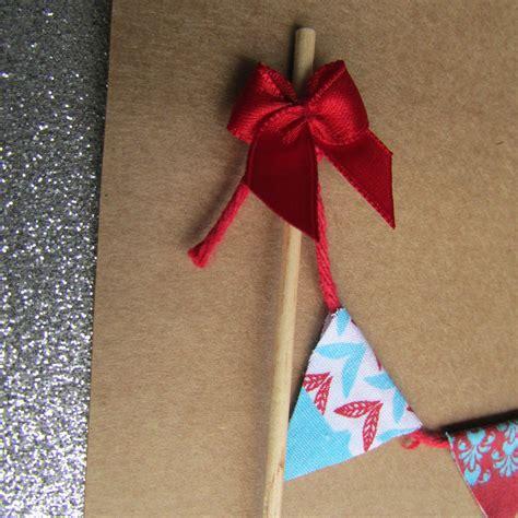 Topper Tusuk Kue Natal B cake topper de natal bandeirola tecido e que tal elo7
