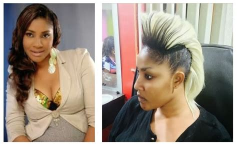 show nigerian celebrity hair styles nigerian celebrities which choose weird hairstyle