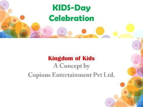 fnf events themes pvt ltd kids day celebration theme event by copious entertainment