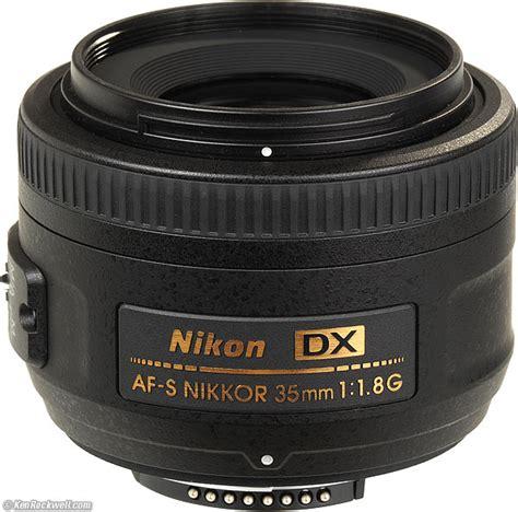 Lensa Nikon Af S 35mm F 1 8g nikon af s dx lens nikkor 35mm f 1 8g ebay