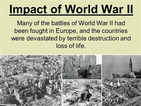 the impact of world war ii on womens fashion in the how did world war ii change europe and the world ppt