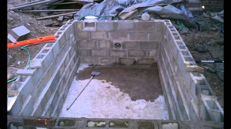 Inground Pool Ideas by Summer 2011 Diy Lap Pool Project Youtube