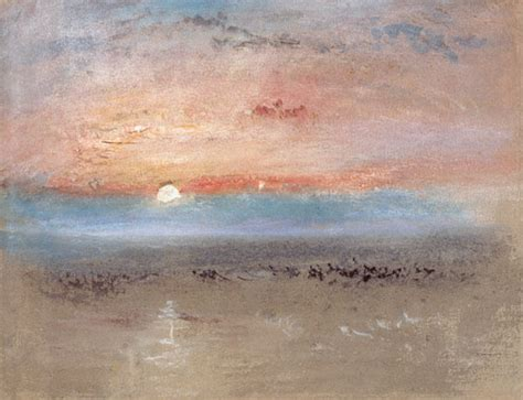 sunset joseph mallord william turner  art print