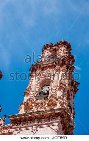 view of the baroque parish church of santa prisca in taxco