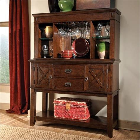Dresser And Hutch Set by Standard Furniture Sonoma Sideboard And Hutch Set 11902