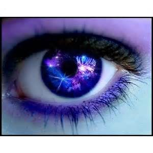 galaxy colored contacts polyvore