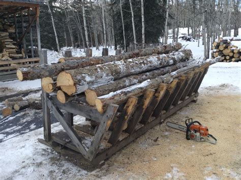build firewood cutting rack 1000 images about firewood logging equipmemt on