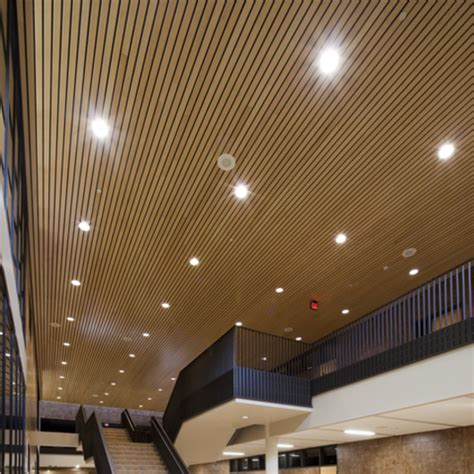 Interior Metal Ceiling Panels by Metal Ceilings Woodwright Box Series Interior From