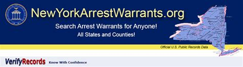 Nys Arrest Records New York Arrest Warrants Newyorkarrestwarrants Org
