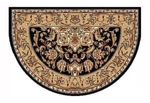 black hearth rug www firesidemurphy black beige kashan hearth rug
