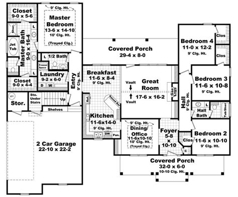 coolhouseplan com house plan chp 39162 at coolhouseplans com