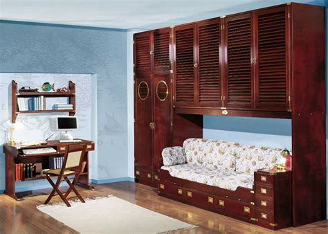 childrens wooden bedroom furniture classic kids bedroom with wooden furniture and study desk