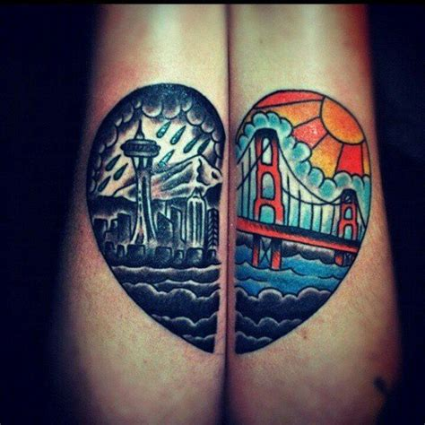 city skyline tattoo 1000 ideas about skyline on
