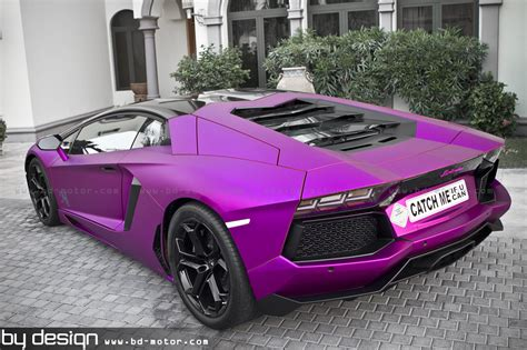 lamborghini aventador purple matt chrome purple aventador 6speedonline porsche