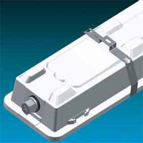 crescent lighting mounting bracket for seal tight ceiling