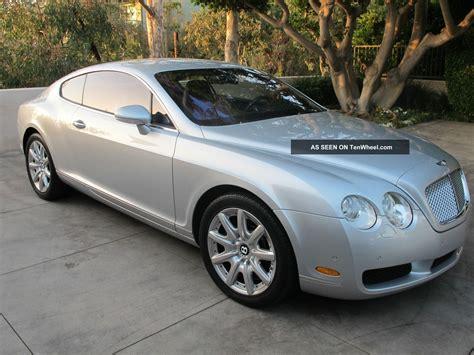 bentley 2 door 2005 bentley continental gt coupe 2 door 6 0l