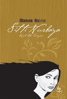 Sitti Nurbaya Oleh Mh Rusli sitti nurbaya bahasa indonesia ensiklopedia bebas