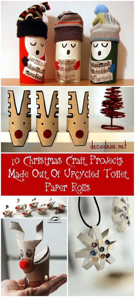 What Can You Make Out Of A Toilet Paper Roll - 10 craft projects made out of upcycled toilet