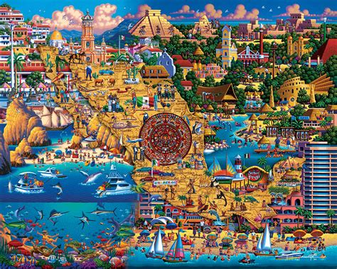 best puzzle best of mexico jigsaw puzzle puzzlewarehouse