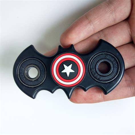 New Promo Fidget Spinner Batman Import Spinner Fidgeting Toys new batman shape fidget spinner edc finger