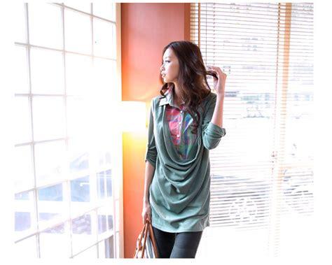 Atasan Hijau Manis Limited Edition atasan wanita korea lucu 2014 model terbaru jual murah