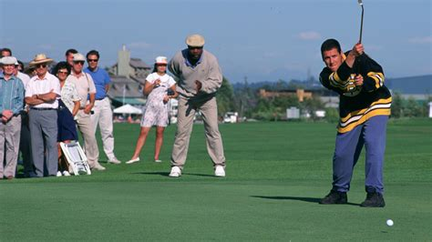 happy gilmore golf swing celebrating the iconic 20th anniversary of happy gilmore