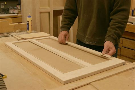 Dress Up Cabinet Doors A Better Way To Fit Mitered Trim Finewoodworking