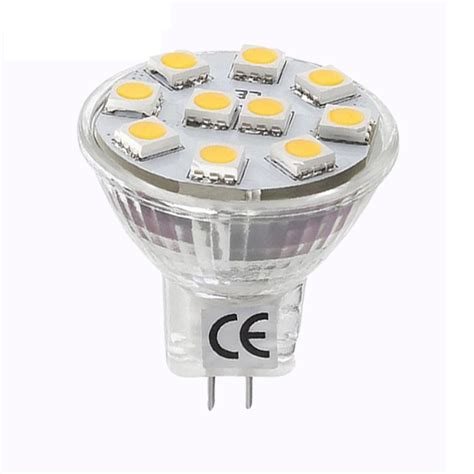 light bulb 12v 20w 1 8w mr11 gu4 led bulbs warm white 165lm 20w halogen