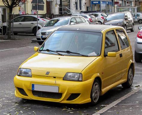 Kleines Auto by Fiat Cinquechento Kleines Auto Mit Gro 223 Em Spoiler